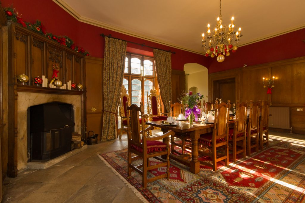 Main Dining Room: Hockwold Hall