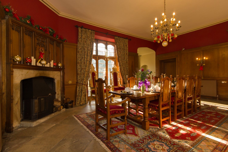 Main Dining Room: Hockwold Hall