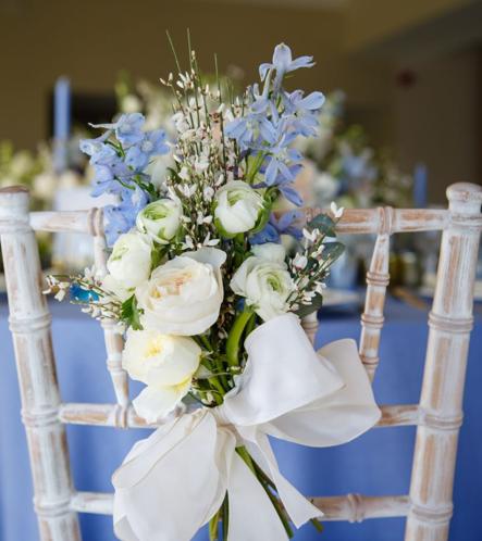 Wedding Flower Chair Designs