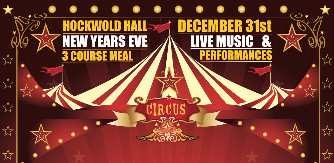 New Years Eve: Hockwold Hall Norfolk