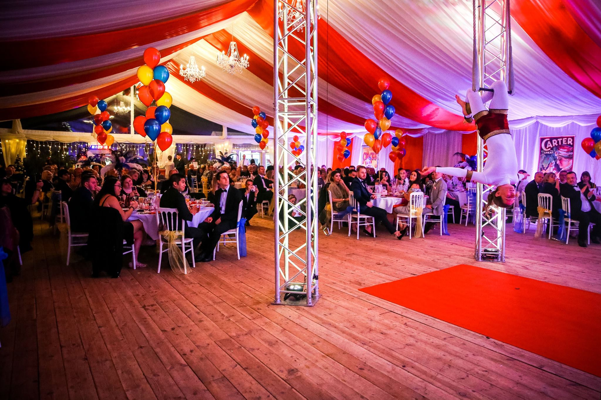 Circus Themed Gala: New Years Eve 2017 Hockwold Hall