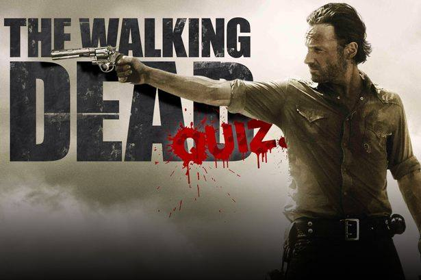 The Walking Dead Pub Quiz