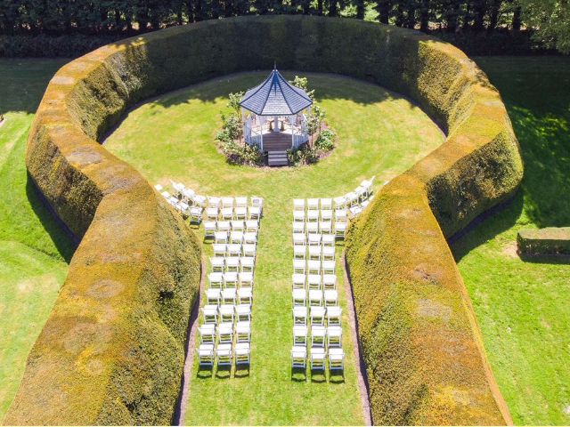 Wedding Marquee with American Folding Chairs