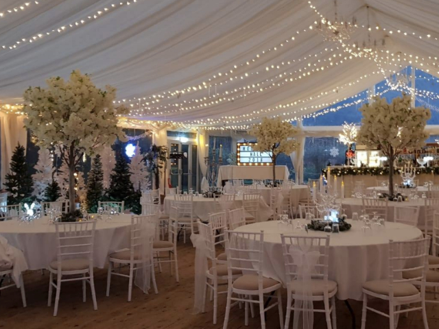 Marquee at Hockwold Hall