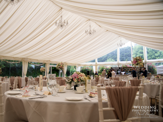 Wedding and Event Marquee at Hockwold Hall